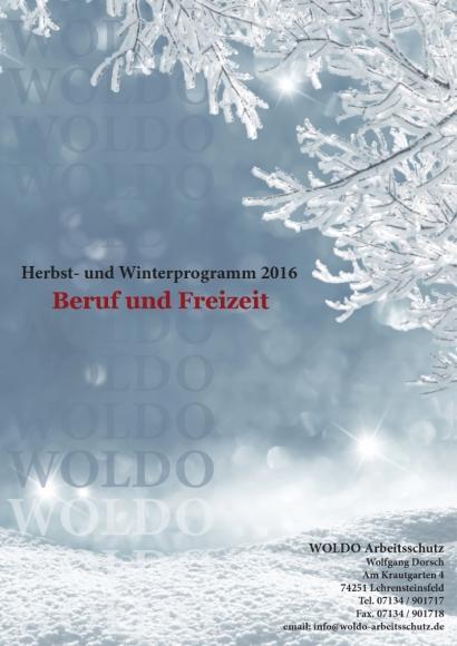 Herbst- und Winterprospekt 2016