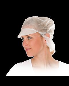 Schildmütze mit Haarschutz