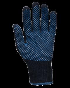 Baumwoll/Polyester-Mittelstrickhandschuhe