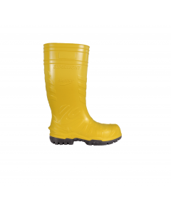 "Schaftstiefel ""ELECTRICAL SAFEST YELLOW"" SB E P FO CI SRC"